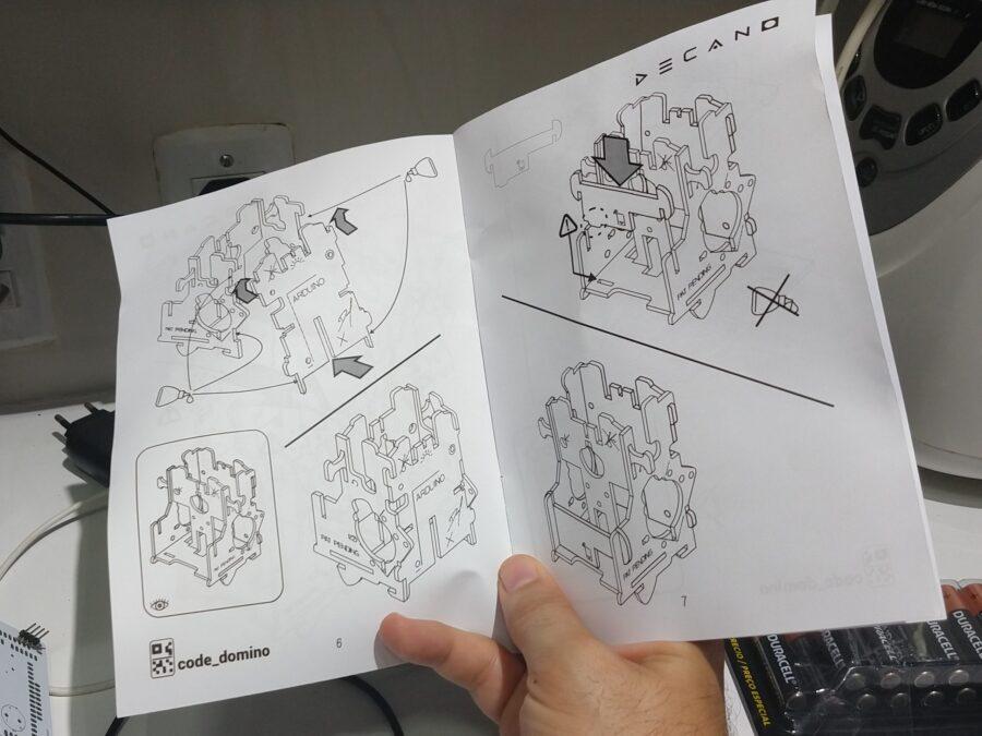 Decabot assembling manual